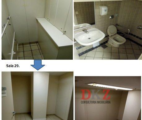 sala 29 vestiario e banheiro